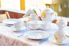 Elagant Tea Set Royalty Free Stock Image