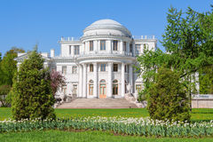 Elagin宫殿,圣彼德堡 图库摄影