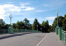 Elagin die meisten 3 Elagin Brücke 3 Stockfotografie