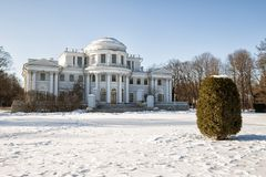Elagin Palace, St. Petersburg, Russia Royalty Free Stock Photography