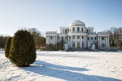 Elagin Palace. St. Petersburg, Russia Stock Image