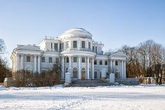 Elagin Palace on the Elagin Island Royalty Free Stock Images