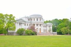 Elagin Palace in St. Petersburg. Royalty Free Stock Image