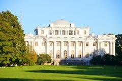 Elagin Palace in St. Petersburg. Stock Photo