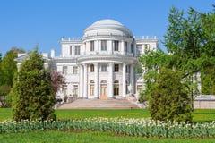 Elagin slott, St Petersburg Arkivbild