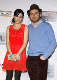 Elaine Cassidy and David Lord Royalty Free Stock Images