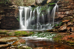 Elakala Falls in West Virginia Stock Image