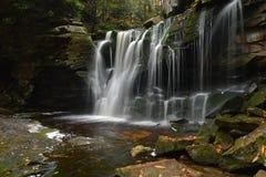 Elakala falls, West Virginia stock photo