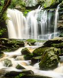 Elakala Falls in West Virginia after Spring Rain Royalty Free Stock Image