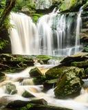 Elakala nedgångar i West Virginia efter vårregn Royaltyfri Bild