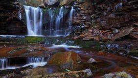 Elakala waterfalls in early spring Royalty Free Stock Image