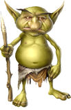 elakt trollkrigare Royaltyfria Bilder