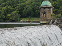 Elan Valley dam and reservoir Stock Images
