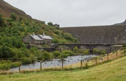 Elan Valley reservoir Stock Photo