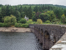 Elan Valley reservoir Stock Images
