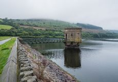 Elan Valley reservoir Royalty Free Stock Photo