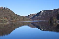Elan Valley, Rhayader, Powys. The dams at Elan Valley, Rhayader, Powys Royalty Free Stock Photos