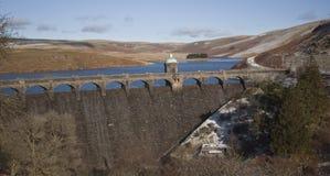 Elan Valley, Rhayader, Powys. The dams at Elan Valley, Rhayader, Powys, Wales Stock Photos