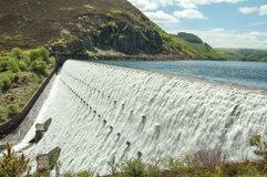 The Elan valley in the summertime of Wales, UK. Stock Images