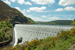 The Elan valley in the summertime of Wales, UK. Stock Photos