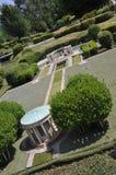 Elancourt F, il 16 luglio: Colleville-sur-Mer di Americain del cimitero nella riproduzione miniatura del parco dei monumenti dall Fotografia Stock Libera da Diritti
