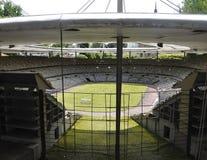 Elancourt F, il 16 luglio: La vista dello Stade de France nella riproduzione miniatura dei monumenti parcheggia dalla Francia Fotografia Stock Libera da Diritti