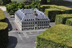 Elancourt F,July 16th: Bourse de Lille in the Miniature Reproduction of Monuments Park from France stock photography