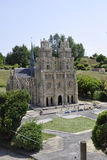 Elancourt F,July 16th: Cathedrale d`Orleans in the Miniature Reproduction of Monuments Park from France royalty free stock photo