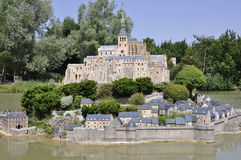 Elancourt F,July 16th: Mont Saint Michel in the Miniature Reproduction of Monuments Park from France Stock Image