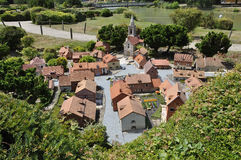 Elancourt F,July 16th: Village Picard in the Miniature Reproduction of Monuments Park from France Stock Images