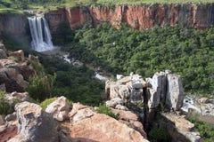 Elands Fluss-Wasserfall Stockbild