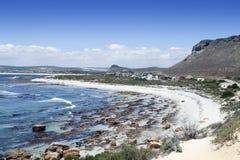 Elandsbaai na costa oeste de África do Sul, em t Imagens de Stock Royalty Free
