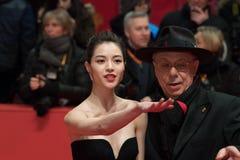 Elane Zhong Chuxi και Dieter Kosslick στοκ εικόνες