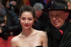 Elane Zhong Chuxi en Dieter Kosslick Royalty-vrije Stock Fotografie