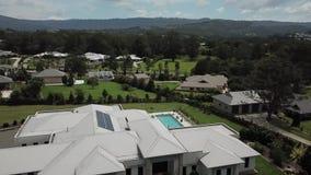 Aceage Estate Elanora Gold Coast Large homes stock footage
