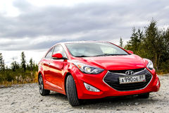 elantra Hyundai στοκ εικόνα με δικαίωμα ελεύθερης χρήσης