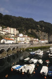 Порт Баскония Elantxobe Bizkaia, Испания, Стоковое Фото