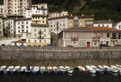 Elantxobe Bizkaia,Basque Country, Royalty Free Stock Images