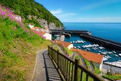 Elantxobe village in Basque Country Stock Image