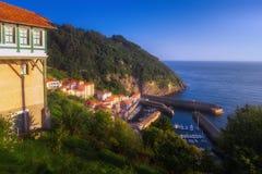 Elantxobe village. In Basque Country royalty free stock image