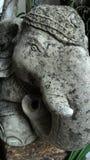 elaphant άγαλμα Στοκ Εικόνες