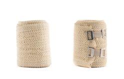 Elastic ACE compression bandage warp Stock Photos