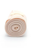 Elastic ACE compression bandage warp unwrapped Stock Photography