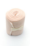 Elastic ACE compression bandage warp unwrapped Royalty Free Stock Image