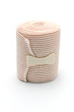 Elastic ACE compression bandage warp unwrapped Royalty Free Stock Photo