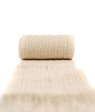 Elastic ACE compression bandage warp Royalty Free Stock Images
