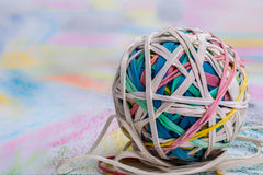 Elastic Band Ball Stock Photos
