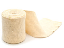 Elastic bandage Stock Photo