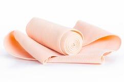 Elastic bandage against. Royalty Free Stock Photo