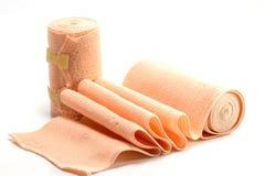 Elastic bandage isolate on white background Royalty Free Stock Photos